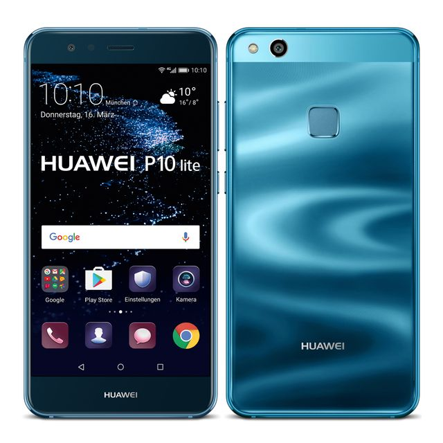 huawei p10 lite 32 go bleu pas cher achat vente smartphone classique android rueducommerce. Black Bedroom Furniture Sets. Home Design Ideas
