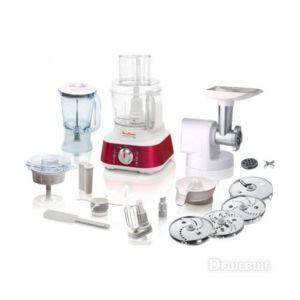 Moulinex robot de cuisine masterchef 8000 rouge hachoir for Robot cuisine multifonction moulinex
