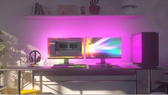 iCUE LS100 RGB Smart Lighting Strip Starter Kit - RGB - 2 x 450 mm + 2 x 250 mm