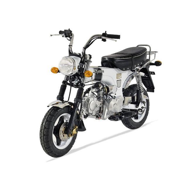 skyteam mini moto dax 50 blanc achat vente motos. Black Bedroom Furniture Sets. Home Design Ideas