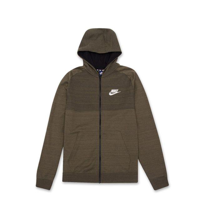 Nike - Sweat à capuche Nike Sportswear Advance 15 Full Zip - Ref. 883025- 8a0dd955ed62