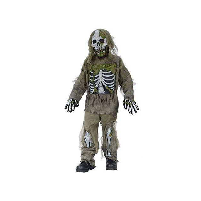 Fun World Skeleton Zombie Costume Medium 8 - 10 Multicolor
