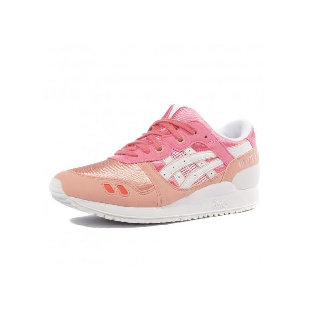 half off 62e9a d0b88 Asics - Gel Lyte Iii Gs Fille Chaussures Rose - pas cher Achat   Vente  Baskets homme - RueDuCommerce