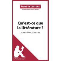 Lepetitlitteraire.FR - qu'est-ce que la littérature ? Sartre