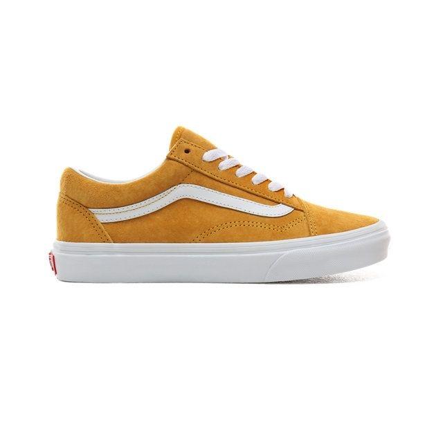 basket vans femme jaune