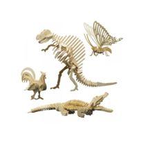 Pebaro - Set de 4 animaux 860/1 - 856/7 - 860/3 - 860/4 - 860