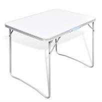Rocambolesk - Superbe Table pliante de camping avec cadre en métal Neuf