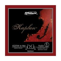 D'ADDARIO - Ks311W Kaplan Mi anti-sifflement filé aluminium pour Violon 4/4