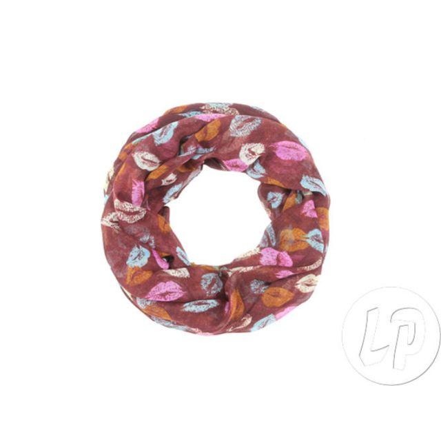 Coolminiprix - Lot de 3 - Foulard tube motif lèvre rose bleu blanc -  Qualité - pas cher Achat   Vente Articles de fête - RueDuCommerce 13e13093d76