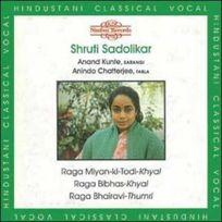 Nimbus World - Shruti Sadolikar - Ragamiyan ki todi khyal Boitier cristal