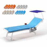 Beachline - Serviettes de plage colorées en microfib