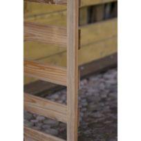 a1540a2bbd9 GÉNÉRIQUE - Abri Buches Armoire de rangement + Abri bûches en bois traité -  Fsc Dimensions