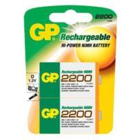 Gp Batteries - Gp - Piles rechargeables 2 x Lr20 1,2 V