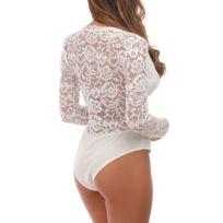 Body dentelle blanc - Achat Body dentelle blanc - Rue du Commerce fffcebf5b47