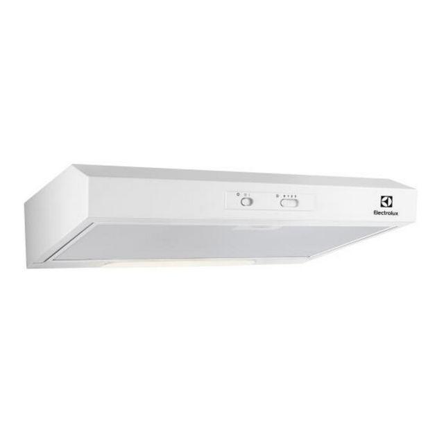 ELECTROLUX hotte visière 60cm 272m3/h blanc - efu216w