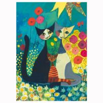 Heye - Puzzle 1000 pièces : Flowerbed, Rosina Wachtmeister