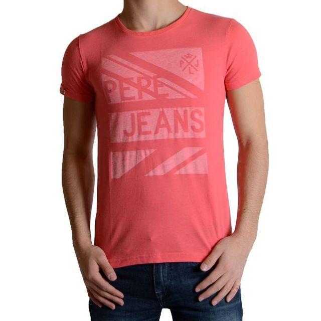 a867a7c10dd69 Pepe Jeans - Tee Shirt Enfant Abbott - pas cher Achat / Vente Tee shirt  enfant - RueDuCommerce
