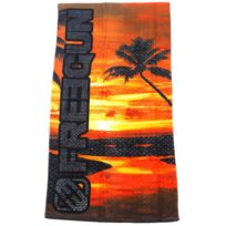 Freegun - Serviette de bain drap de plage San org towel 75x150 cm Orange 27651