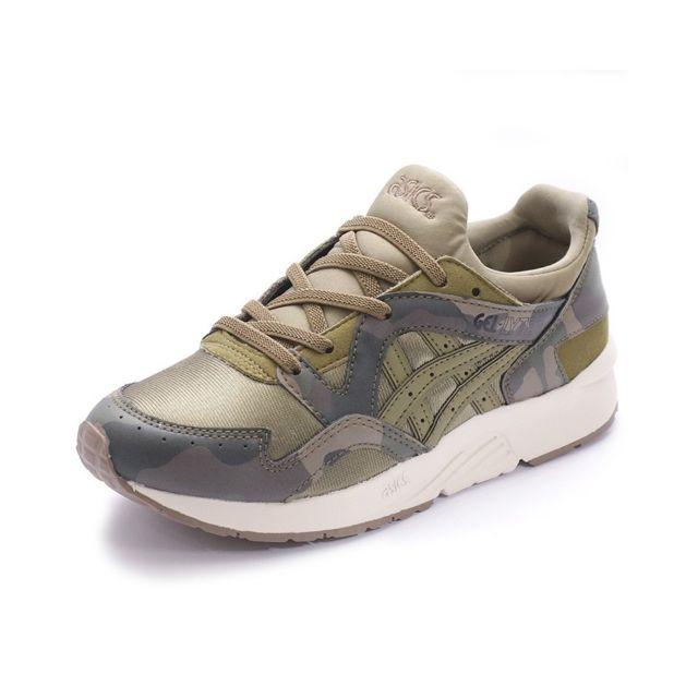 chaussure asics camouflage