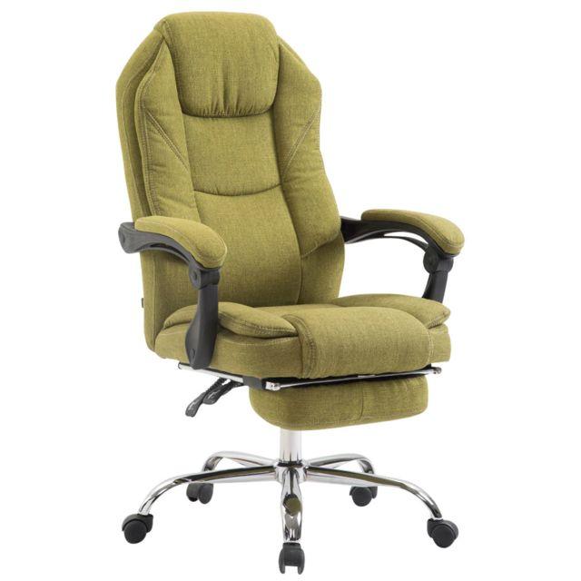 Splendide chaise de bureau, fauteuil de bureau Mbabane en tissu