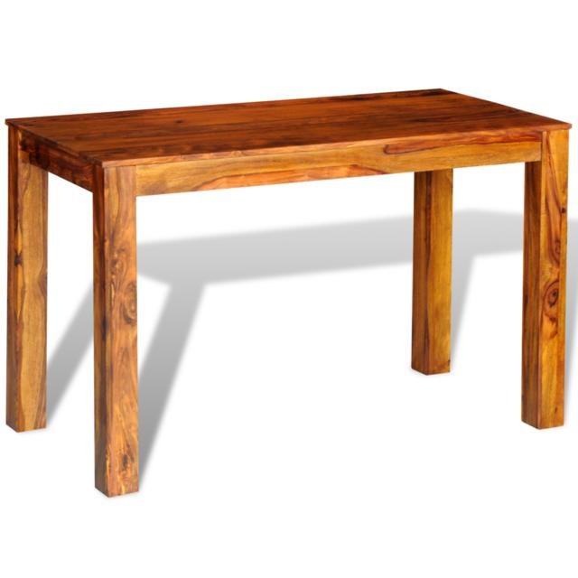 Vidaxl Table en palissandre massif 120 x 60 76 cm