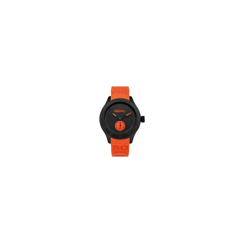 2a3535f121056 SUPERDRY- Montre Scuba Small Sec Homme Noir - Syg212OB - Orange - Orange