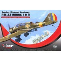 Mirage Hobby - 481304, ÉCHELLE 1:48, Kit De ModÈLE En Plastique Pzl-23 Karas I & Ii 'ROYAL Air Force Roumaine