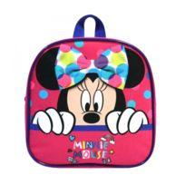 76d1808a5b Disney - Bagtrotter Sac à Dos Goûter Maternelle Minnie Rose