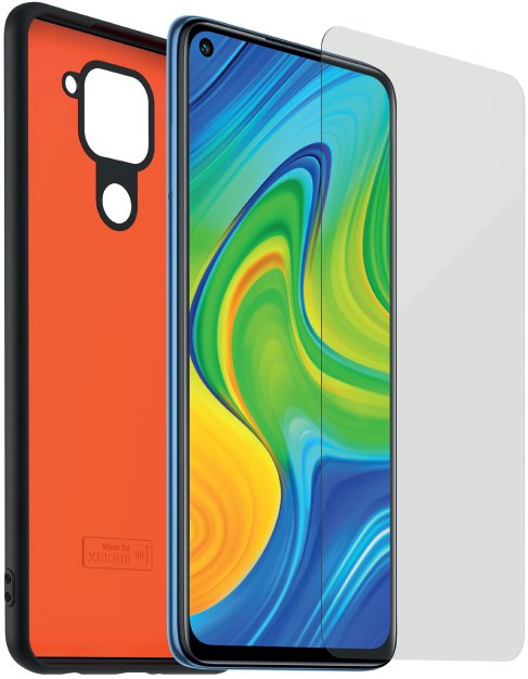 Pack Protection 360° TPU pour Xiaomi Redmi Note 9