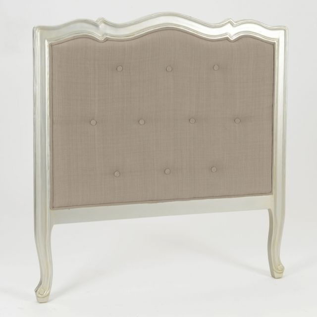AMADEUS Tête de lit argent Murano 90 cm