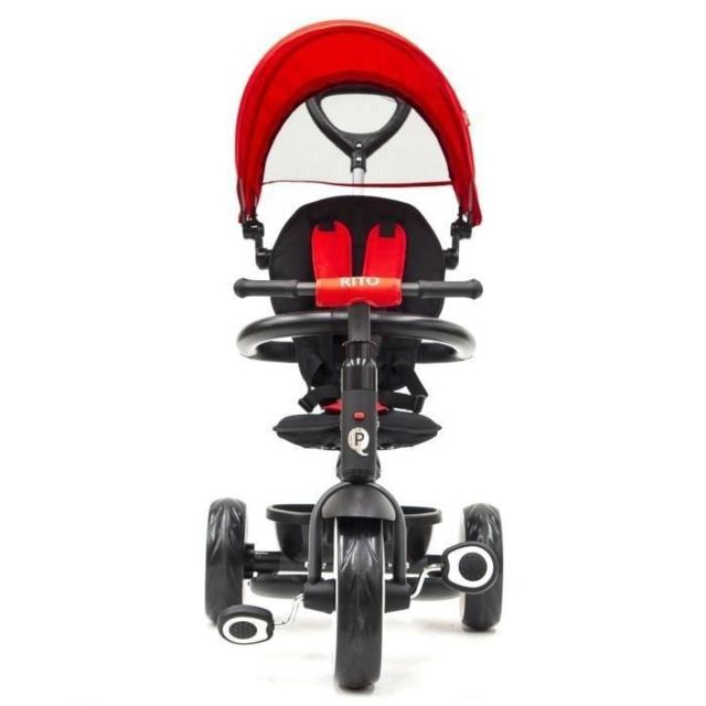 TRICYCLE QPLAY Tricycle Évolutif Rito - Pliage compacte - Rouge