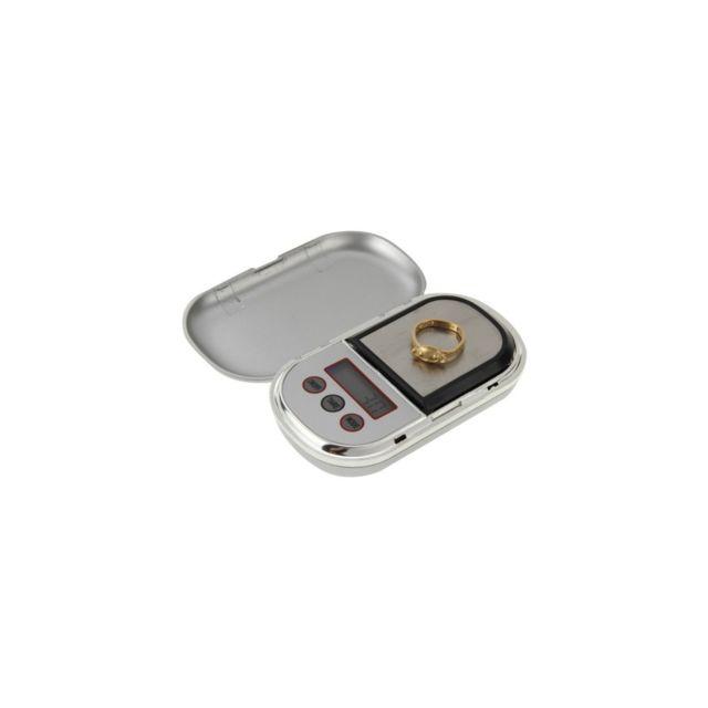 Auto-hightech Mini balance digitale de poche - Kl-888 - 0.1g • 500g Argentée
