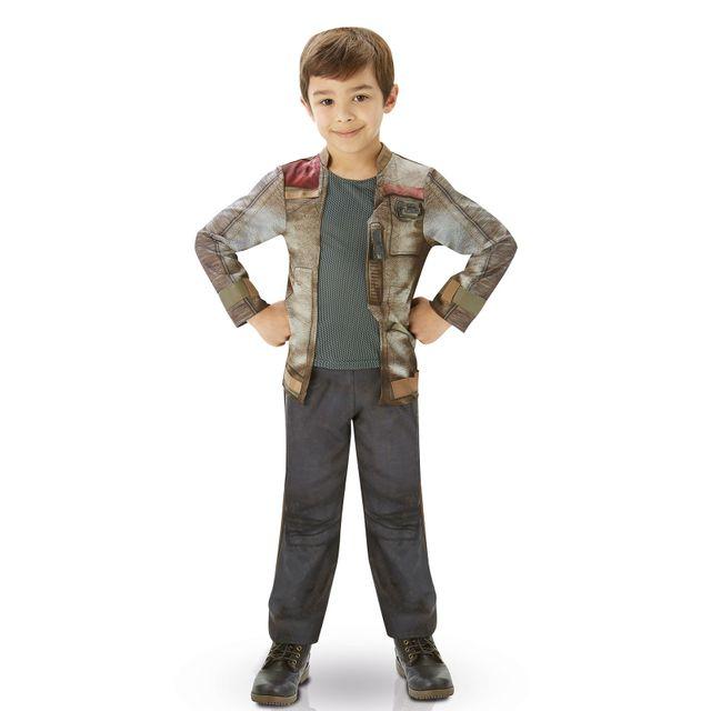 STAR WARS Déguisement Finn pour enfant, modèle luxe 5/6 ans