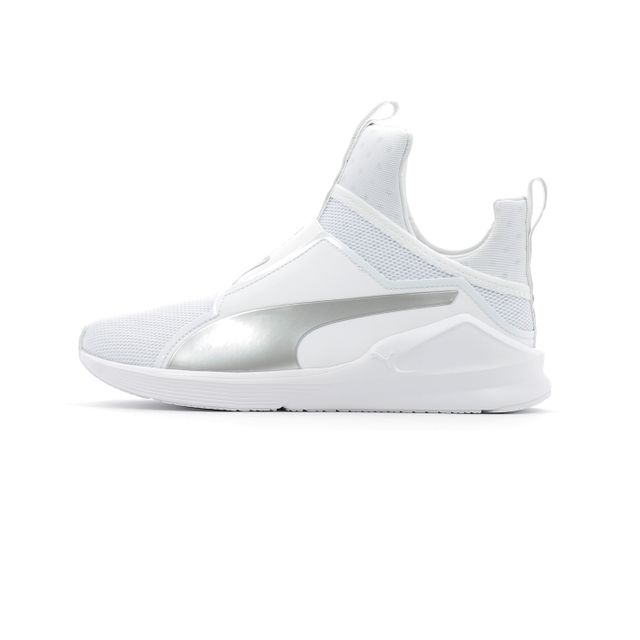 Puma - Baskets montantes Wns Fierce Core Blanc - pas cher Achat   Vente  Chaussures fitness - RueDuCommerce 8bbeedbe553