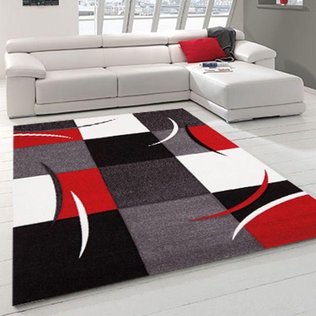 Un Amour De Tapis Tapis De Salon Moderne Design Diamond 665 110