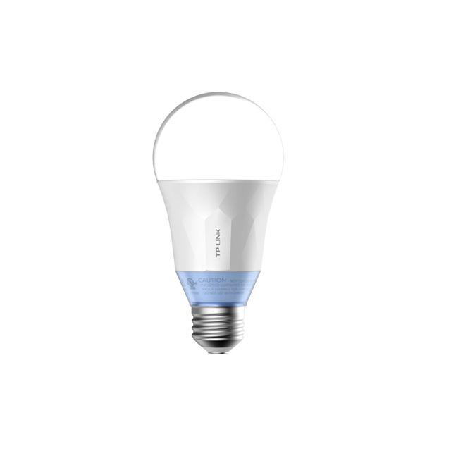 tp link ampoule led connect e wi fi avec lumi re blanche personnalisable equiv 60 watts e27. Black Bedroom Furniture Sets. Home Design Ideas