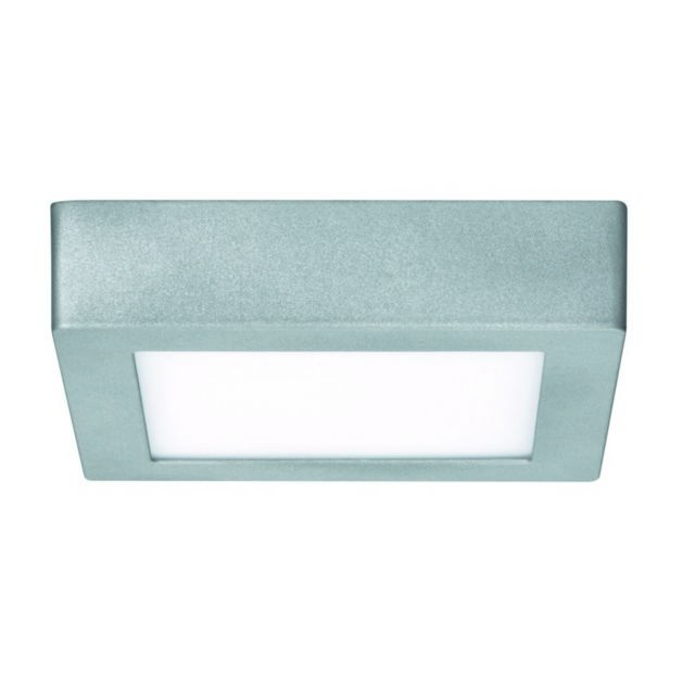 paulmann led panel wallceiling lunar 170x170mm 11w 230v chrome mat alu 0cm x 0cm x 0cm pas. Black Bedroom Furniture Sets. Home Design Ideas