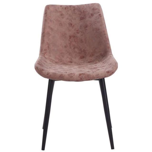 GÉNÉRIQUE Chaise Chaise de salle a manger pieds en métal