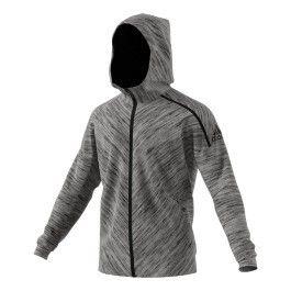Sweat Shirt Zne Travel Adidas Gris Veste Achat Pas Vente Cher qS1vxwx5