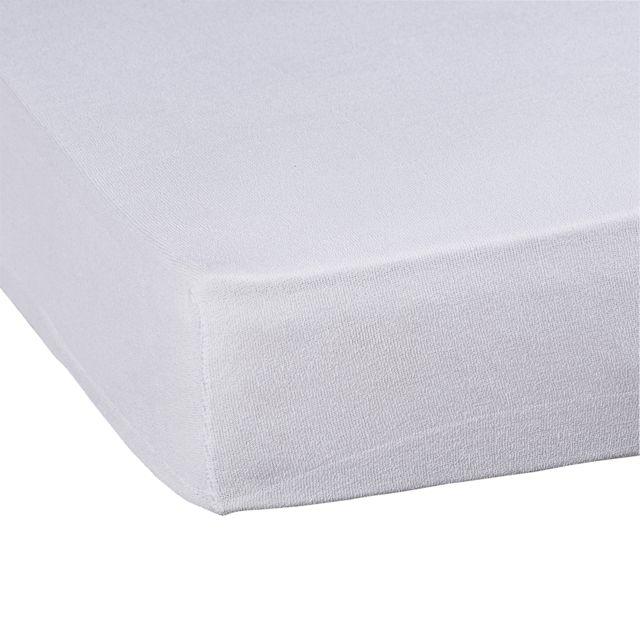 tex home renove matelas antiacarien aere en polycoton blanc 140cm x 200cm pas cher achat. Black Bedroom Furniture Sets. Home Design Ideas