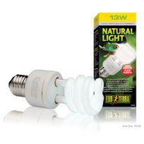 Exo Terra - Ampoule Natural Light Fluocompact pour Terrarium - 13W
