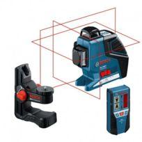 Bosch - Laser Gll 3-80 P + Bm 1 + cellule Lr2 + L-boxx