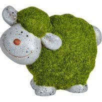 Alinéa - Countryside Mouton décoratif en terre cuite et mousse synthétique H14cm