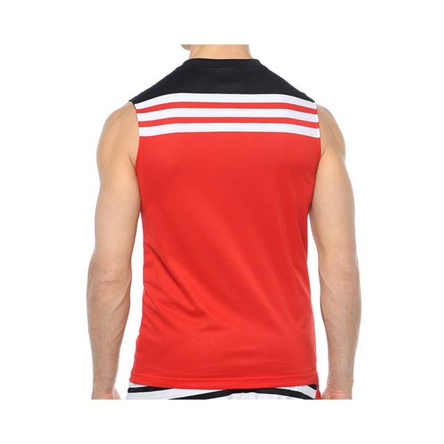 Adidas Maillot Reversible Rouge Chicago Bulls Basketball