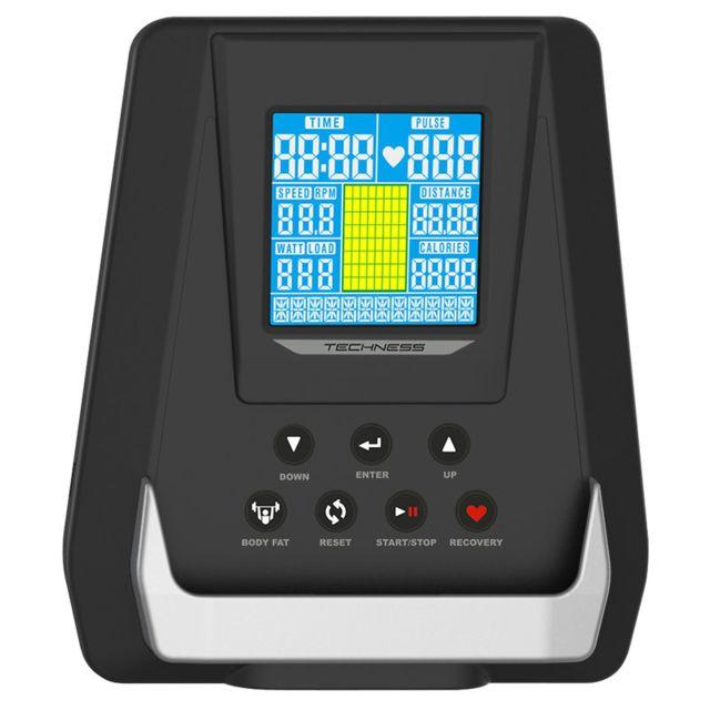 V/élo dAppartement Techness SB 800 MP3 Ergom/ètre 18 programmes 18 kg de Masse dinertie