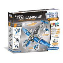 Clementoni - Mon Atelier Mécanique - Avions et Hélicoptères