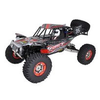 RC System - Sand Master 1/10 Brushed RTR Rouge