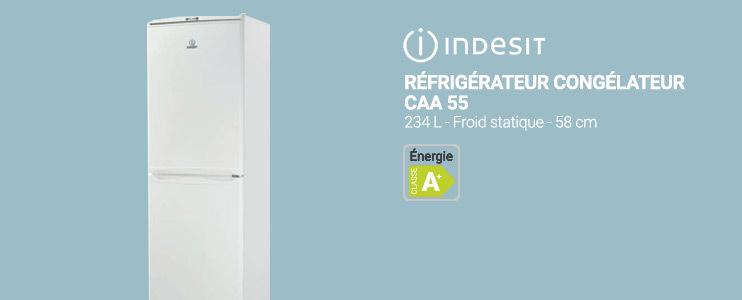 Indesit - Réfrigérateur congélateur CAA 55