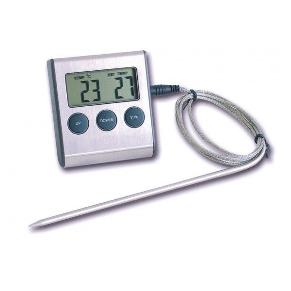 Minuteur et Thermomètre de cuisson digital