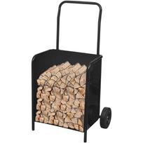 Rocambolesk - Superbe Chariot de bois de chauffage neuf